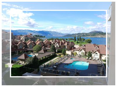Photo for Spectacular Views From This 7th Floor Condo At Sunset Waterfront Resort. Kelowna