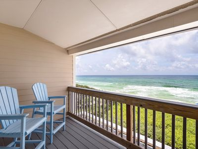 Photo for Blue Nine 2 - Gulf Front Townhome - Seacrest Beach