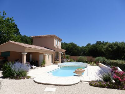 Photo for Gite 4 pers. Bedoin Vaucluse Provence with heated pool and sauna