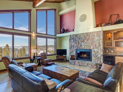 Photo for New Listing: Monumental Views over Breck - Spacious Pristine Home w it All