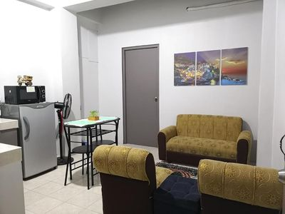 Photo for MOONSTONE: Comfy 1BR Flat | 5 mins from Subic w/ NETFLIX