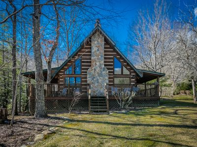 Photo for Legends 3 Bedroom 2.5 bath Log Cabin in Valle Crucis NC