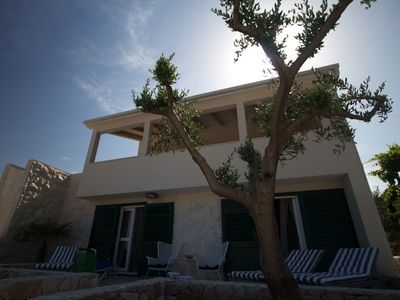 Photo for Family friendly villa next to the beach, close to Trogir and Split