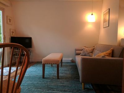 Photo for The Half-Moon. Great Location, A Short Walk To Town Or Back Beach. Wifi.
