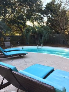 Beautiful pool and private fenced in yard perfect for families