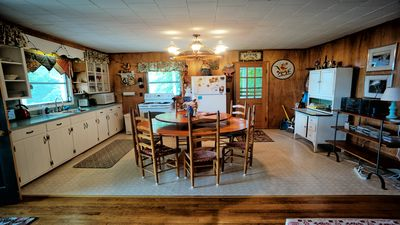 Big kitchen with everything you'll need to cook great meals.