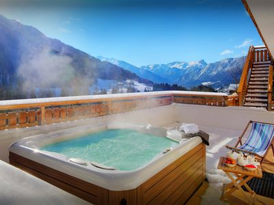 Photo for Admire the view from the hot tub or get cosy to watch a film - OVO Network