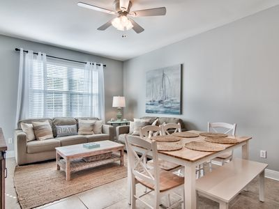 Photo for 30A Getaway~Spacious 4 Bed/3 Bath Condo with Pool/Fitness!~Walk to Beach!