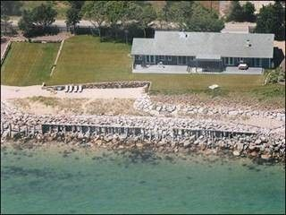 Photo for Marthas Vineyard, Direct Waterfront Beach House with Spectacular Ocean Views