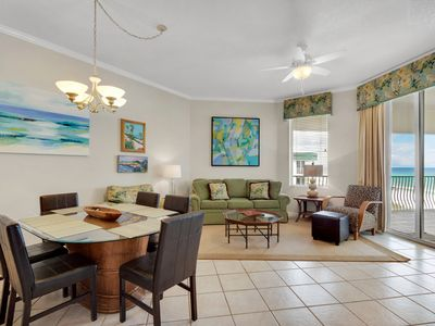 Photo for Fourth Floor condo w/ Beach Ambience! Lagoon Pool/Fitness Center/Tennis Courts!