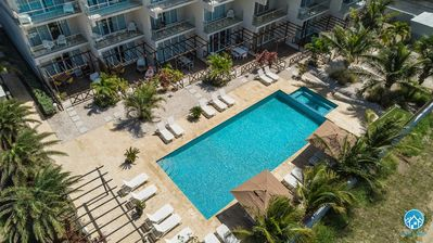 Photo for Best location - Best price! 3 bedroom Condo at walking distance to Palm Beach!