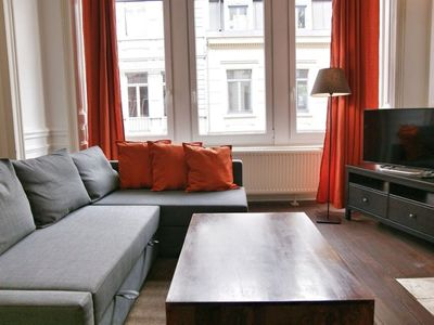 Photo for Antoine VI apartment in Brussels Centre with WiFi & lift.