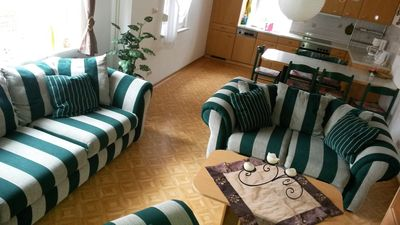 Photo for House in a quiet location near Spreewald and lake landscape, terrace, dishwasher
