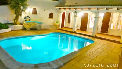Photo for LUXURY VILLA WITH SEA FRONT POOL BED 11 + 1
