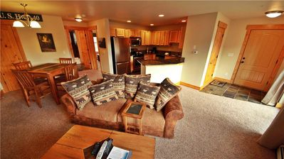 Photo for Fabulous condo on free shuttle route with heated garage