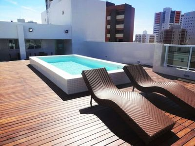 Photo for 2 bedroom apartment in Tambaú with rooftop pool