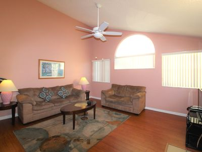 Photo for COMFY  2 BEDROOM VACATION VILLA MINUTES FROM DISNEY!!!