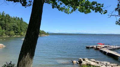 Photo for Lakefront home with tennis court and dock on gorgeous Lake Champlain