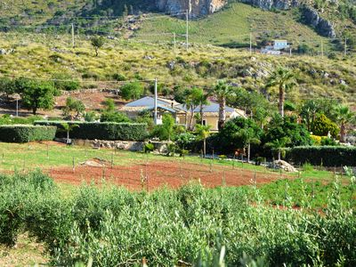 Photo for Beautiful farmhouse for 16 persons with big pool and stunning sea views