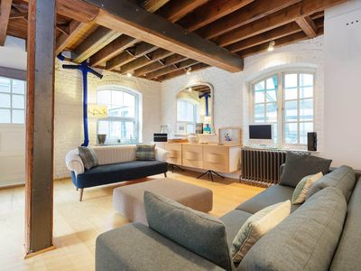 Photo for Apartment set in an old coach house with a spectacular interior (Veeve)