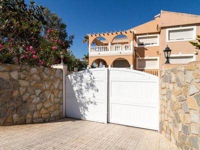 Photo for Independent apartment in semi-basement of chalet in km. 2 of La Manga