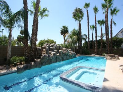 Photo for LUXURY MESA HOME 6 BDRMS, POOL WITH SLIDE AND SPORT COURT GREAT FOR FAMILIES