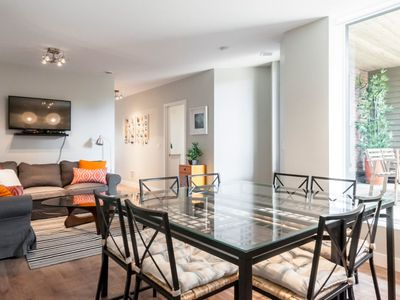 Photo for Le Lounge: 1800 sq.ft. in the Plateau Neighbourhood + Large Private Terrace
