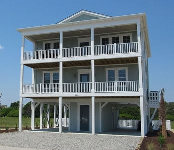 Photo for New Ocean Isle Home With Amazing Ocean Views, Pool and Elevator