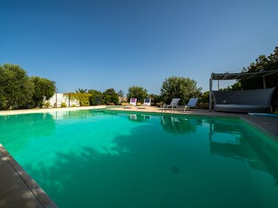Photo for 3 bedoom 210 sqm villa with beautiful pool 6 km from Syracuse city