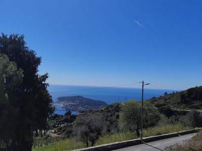 Photo for 10 minutes from Nice and Monaco, 2 rooms in house nicoise with sea view