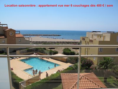 Photo for 2BR Apartment Vacation Rental in Valras-Plage