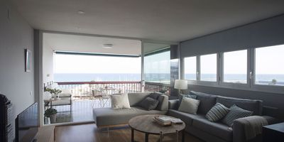 Photo for BALIS - RENOVATED APARTMENT - IN FRONT OF THE PORT - AMAZING VIEWS FROM THE SEA, THE MARINA AND THE BOATS