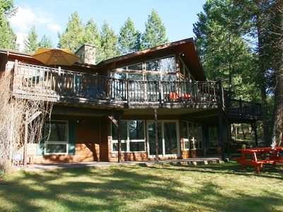 Photo for Falcon Cabin: Serene Location Minutes to Hot Pools and Skiing