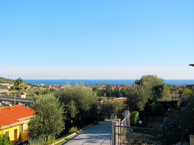 Nice Sea and Hill View from La Meloria's Garden