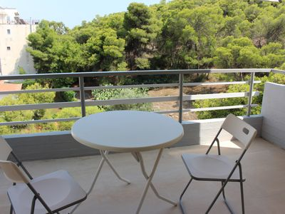 Photo for Attic apartment suitable for families on the Athenian Riviera, Varkiza