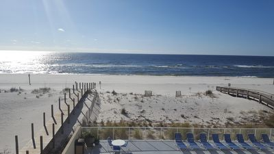 BEAUTIFUL DIRECT Beach and Gulf Views from Balcony!