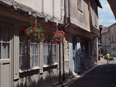 Photo for Beautiful characteristic city house in 1 of France's most beautiful towns.