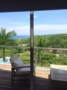 Photo for Amazing One bedroom loft ocean view at Punta Gaviota,  Arrocito, Huatulco