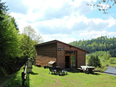 Photo for Cute and atmospheric chalet with magnificent view in the middle of the Vosges