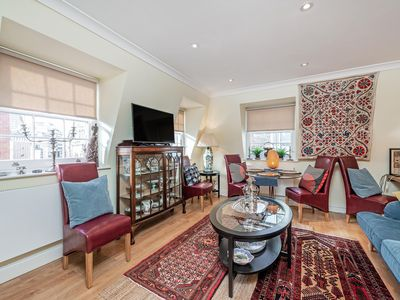 Photo for NEW LISTING! Bright and airy Mayfair Penthouse