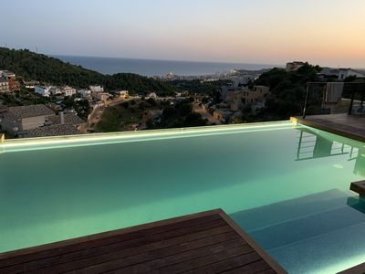 Photo for Villa Colina Sitges completely renovated, new pool with seeviews from every room
