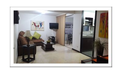 Photo for 1BR Apartment Vacation Rental in Cali, Valle del Cauca