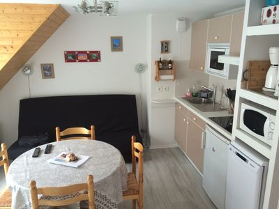 Photo for Cauterets rent T2 + alcove, private parking, wifi, 4 pers