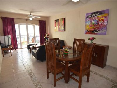 Photo for Apartment with balcony and shower, Rinconada del Sol
