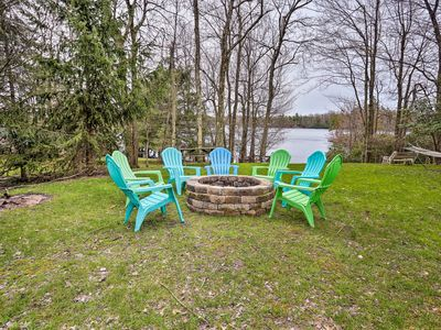 Photo for NEW-Lakefront Long Pond Home w/2 Decks, Boat &Dock