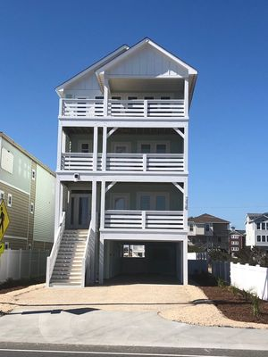 Photo for 2019 Brand New*Semi Oceanfront*Private Pool*Elevator Across from Jeanettes Pier