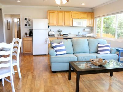 Cozy family friendly guest home with private outdoor patio and canyon views