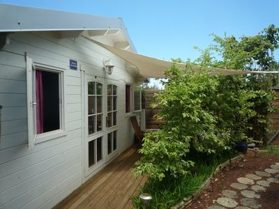 Photo for Bungalow in a charming seaside village 'Etang Salé les Bains'