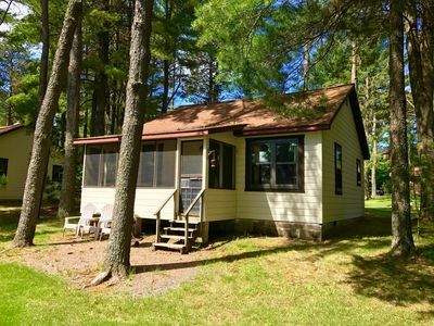 Photo for 2BR Cabin Vacation Rental in Presque Isle, Wisconsin
