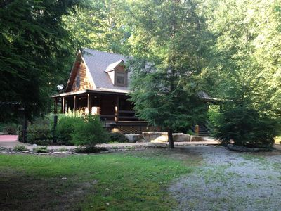 Photo for Luxury In Nature, Log Cabin In One Of A Kind Location.